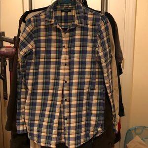 Madewell thick plaid shirt